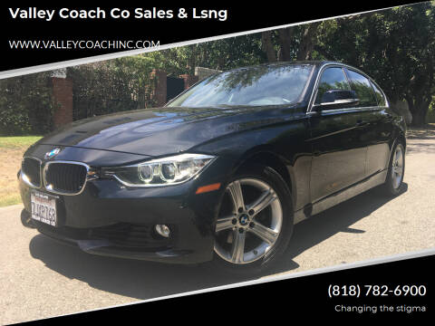 2015 BMW 3 Series for sale at Valley Coach Co Sales & Lsng in Van Nuys CA