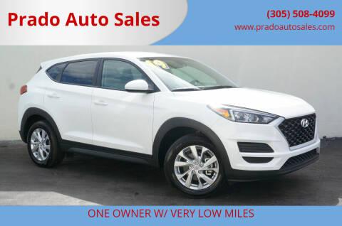 2019 Hyundai Tucson for sale at Prado Auto Sales in Miami FL