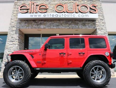 2019 Jeep Wrangler Unlimited for sale at Elite Autos LLC in Jonesboro AR