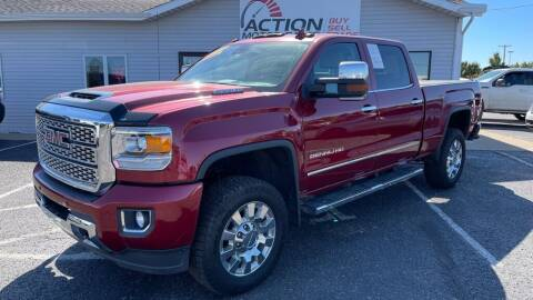 2018 GMC Sierra 2500HD for sale at Action Motor Sales in Gaylord MI