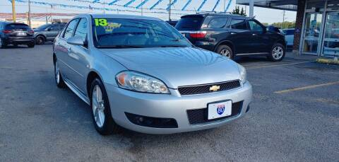 2013 Chevrolet Impala for sale at I-80 Auto Sales in Hazel Crest IL