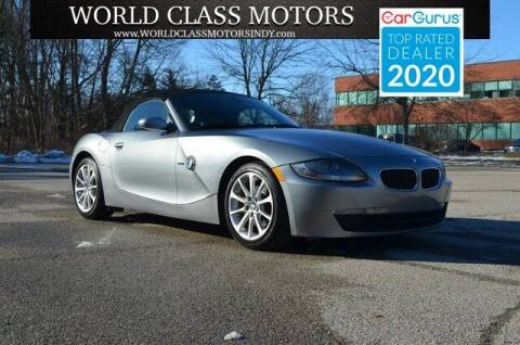 2006 BMW Z4 for sale at World Class Motors LLC in Noblesville IN