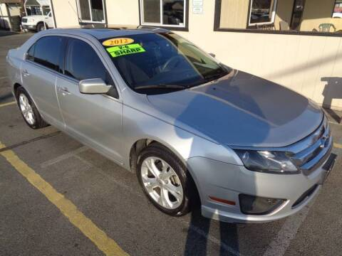 2012 Ford Fusion for sale at BBL Auto Sales in Yakima WA