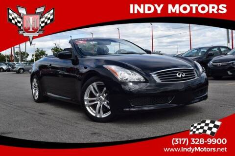 2009 Infiniti G37 Convertible for sale at Indy Motors Inc in Indianapolis IN