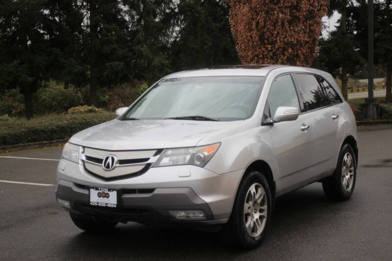 2008 Acura MDX for sale at Top Gear Motors in Lynnwood WA