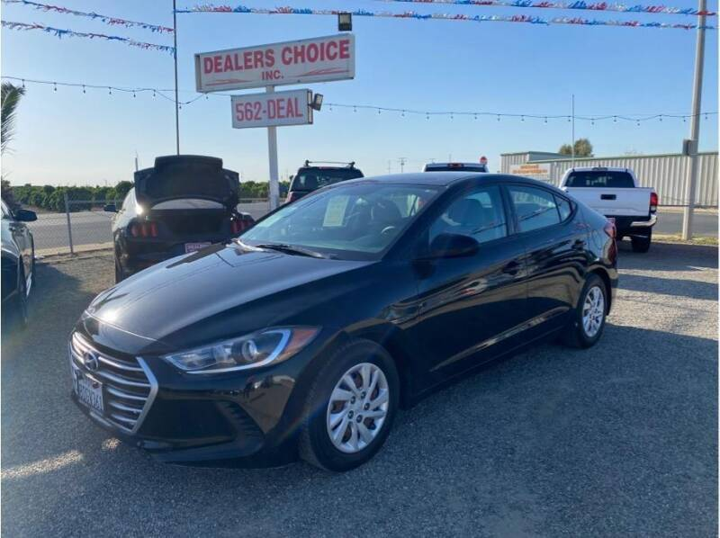 2017 Hyundai Elantra for sale at Dealers Choice Inc in Farmersville CA