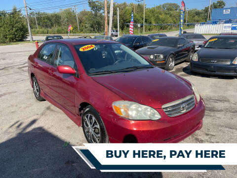 2004 Toyota Corolla for sale at I57 Group Auto Sales in Country Club Hills IL