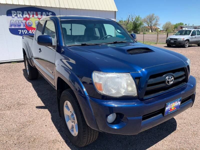 2008 Toyota Tacoma for sale at Praylea's Auto Sales in Peyton CO