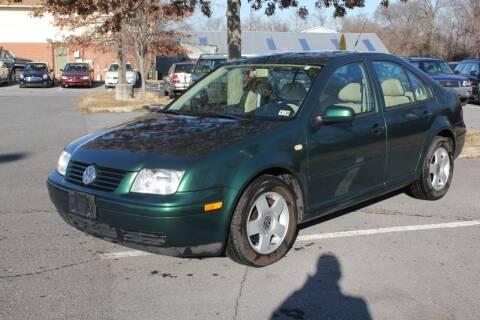 1999 Volkswagen Jetta for sale at Auto Bahn Motors in Winchester VA