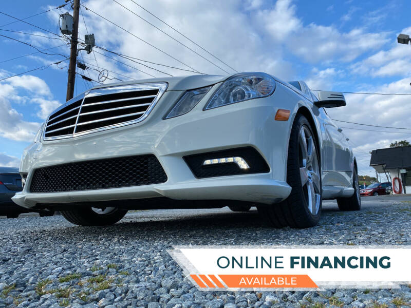 2011 Mercedes-Benz E-Class for sale at Prime One Inc in Walkertown NC