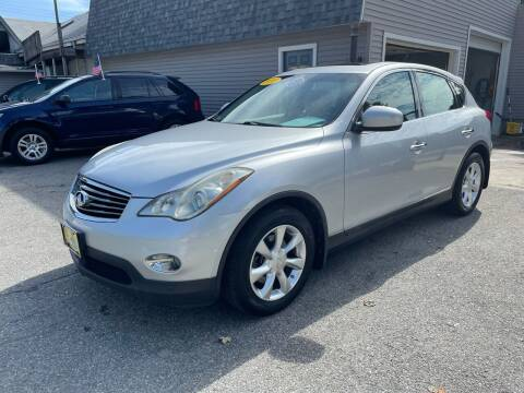 2010 Infiniti EX35 for sale at JK & Sons Auto Sales in Westport MA