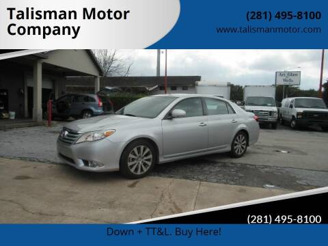 2011 Toyota Avalon for sale at Don Jacobson Automobiles in Houston TX