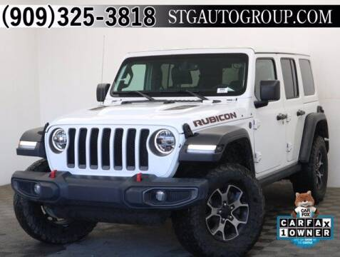 2018 Jeep Wrangler Unlimited for sale at STG Auto Group in Montclair CA