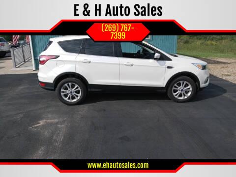 2017 Ford Escape for sale at E & H Auto Sales in South Haven MI