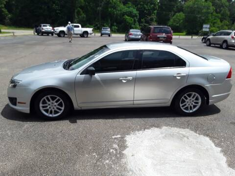 2012 Ford Fusion for sale at WALKER MOTORS LLC in Hattiesburg MS