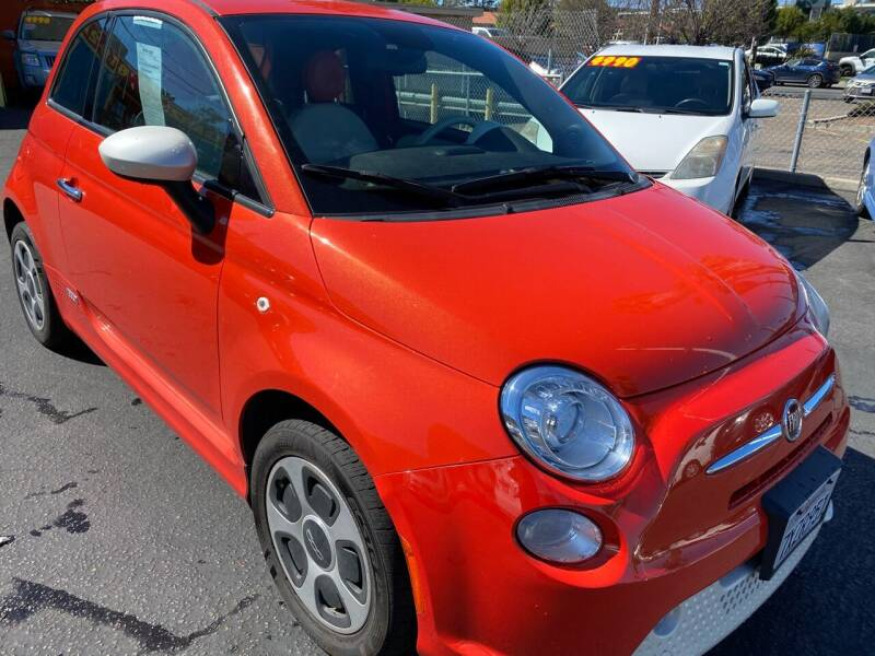 2013 FIAT 500e for sale at CARZ in San Diego CA