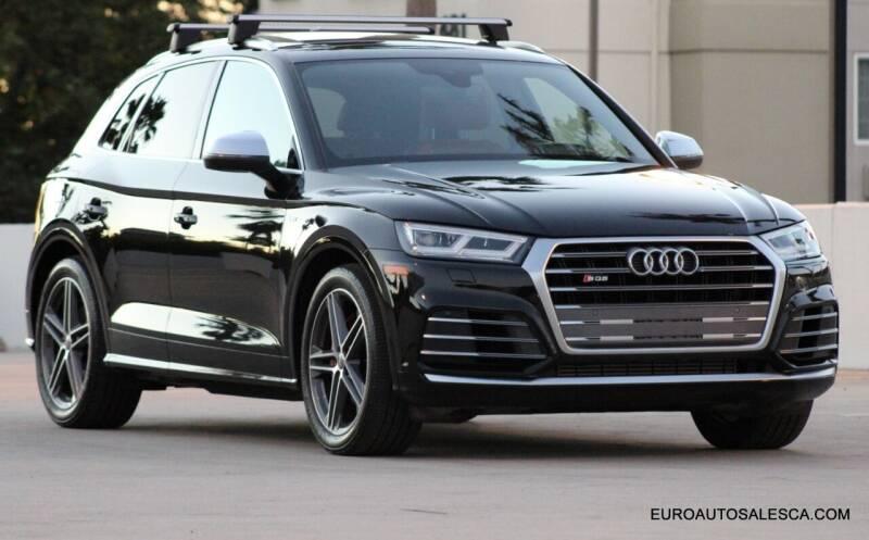 2018 Audi SQ5 for sale at Euro Auto Sales in Santa Clara CA