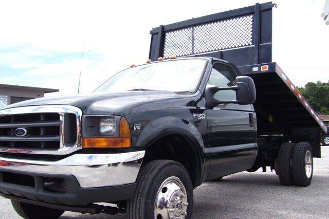 2001 Ford F-450 Super Duty for sale at buzzell Truck & Equipment in Orlando FL