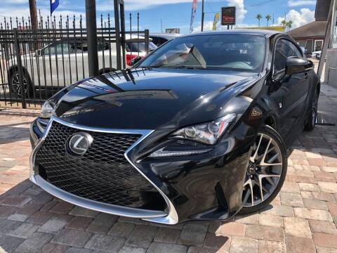 2017 Lexus RC 200t for sale at Unique Motors of Tampa in Tampa FL