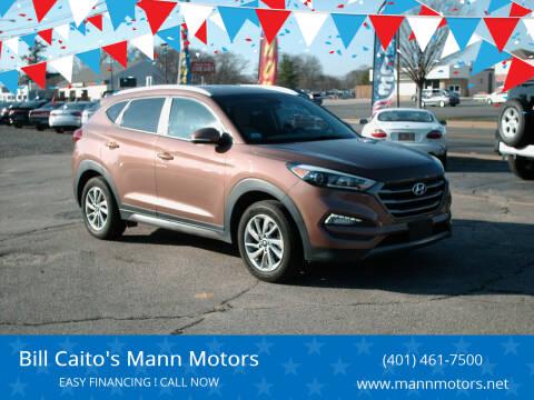 2016 Hyundai Tucson for sale at Bill Caito's Mann Motors in Warwick RI