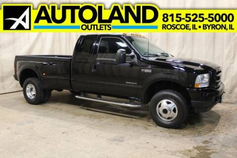 2002 Ford F-350 Super Duty for sale at AutoLand Outlets Inc in Roscoe IL