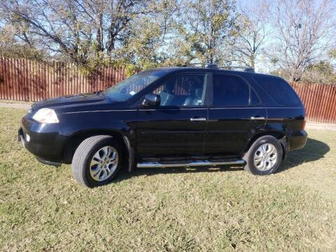 2003 Acura MDX for sale at El Jasho Motors in Grand Prairie TX