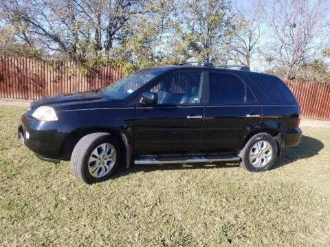 2003 Acura MDX for sale at El Jasho Motors in Grand Prairie TX
