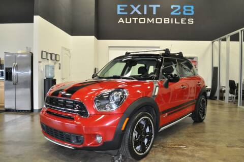 2016 MINI Countryman for sale at Exit 28 Auto Center LLC in Cornelius NC
