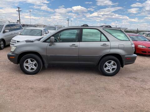 2001 Lexus RX 300 for sale at PYRAMID MOTORS - Fountain Lot in Fountain CO