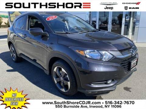 2018 Honda HR-V for sale at South Shore Chrysler Dodge Jeep Ram in Inwood NY