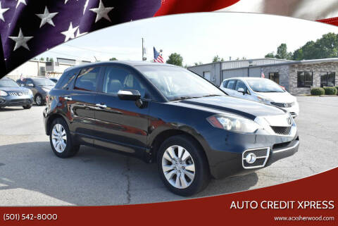 2011 Acura RDX for sale at Auto Credit Xpress in North Little Rock AR
