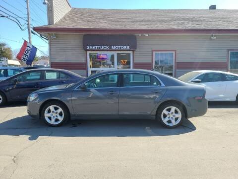 2009 Chevrolet Malibu for sale at Shattuck Motors in Newport VT