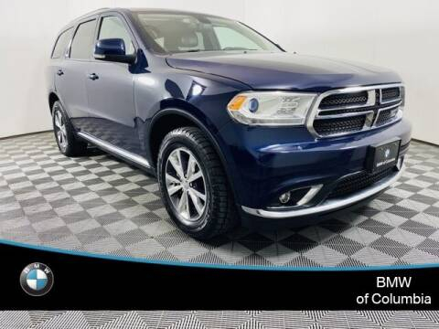 2016 Dodge Durango for sale at Preowned of Columbia in Columbia MO