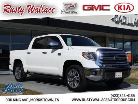 2018 Toyota Tundra for sale at RUSTY WALLACE CADILLAC GMC KIA in Morristown TN