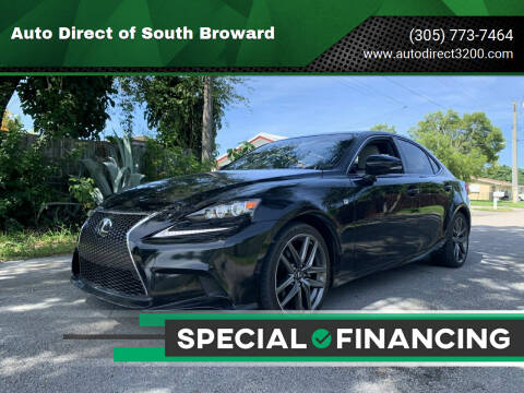 2014 Lexus IS 250 for sale at Auto Direct of South Broward in Miramar FL