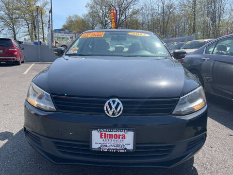 2012 Volkswagen Jetta for sale at Elmora Auto Sales in Elizabeth NJ