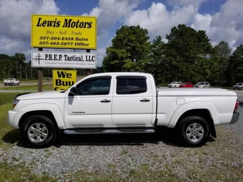 2009 Toyota Tacoma for sale at Lewis Motors LLC in Deridder LA