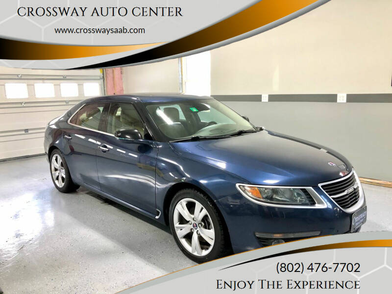 2011 Saab 9-5 for sale at CROSSWAY AUTO CENTER in East Barre VT