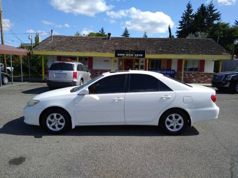 2005 Toyota Camry for sale at MK MOTORS in Marysville WA