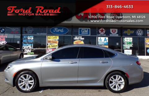 2015 Chrysler 200 for sale at Ford Road Motor Sales in Dearborn MI