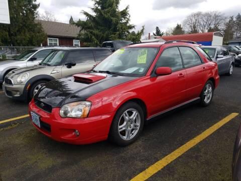2004 Subaru Impreza for sale at ET AUTO II INC in Molalla OR