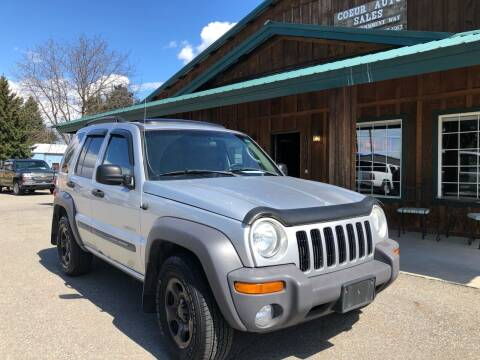 2004 Jeep Liberty for sale at Coeur Auto Sales in Hayden ID