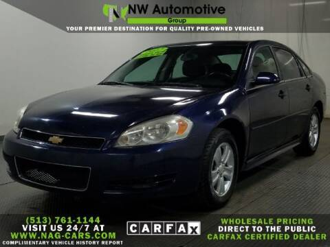 2012 Chevrolet Impala for sale at NW Automotive Group in Cincinnati OH