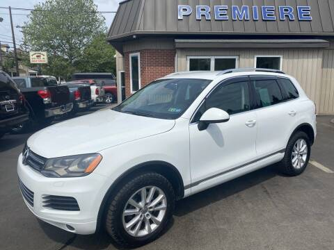 2013 Volkswagen Touareg for sale at Premiere Auto Sales in Washington PA