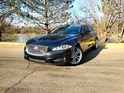 2012 Jaguar XJL for sale at Excalibur Auto Sales in Palatine IL