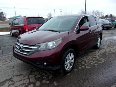 2014 Honda CR-V for sale at DAVE KNAPP USED CARS in Lapeer MI