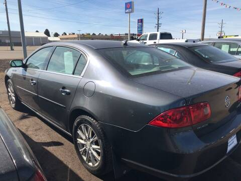 2009 Buick Lucerne for sale at BARNES AUTO SALES in Mandan ND