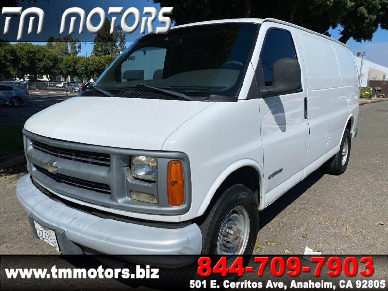 2002 Chevrolet Express Cargo for sale at TM Motors in Anaheim CA