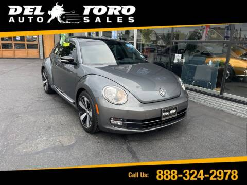 2012 Volkswagen Beetle for sale at DEL TORO AUTO SALES in Auburn WA