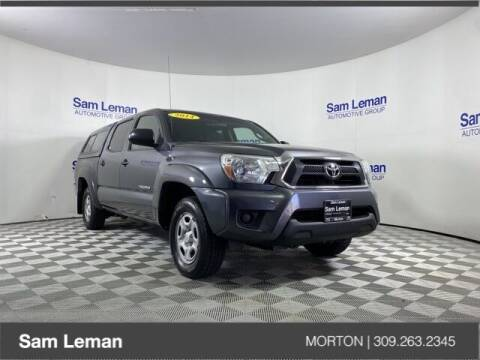 2014 Toyota Tacoma for sale at Sam Leman CDJRF Morton in Morton IL